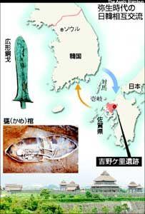 弥生 時代の 日韓 相互 交流