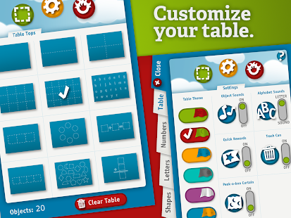 TableTots Teacher - screenshot