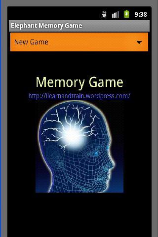 Elephant Memory Game
