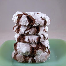 Fudge Crinkles (A Great 4 Ingredient Cake Mix Cookie)