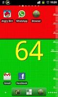 Screenshot of Battery Level Wallpaper Pro