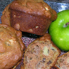 Apple Raisin Walnut Muffins