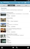 Screenshot of Reykjavík Guide by Triposo