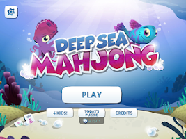 Screenshot of Deep Sea Mahjong