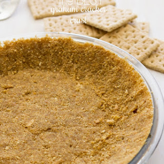 Perfect Graham Cracker Crust {bake and no-bake}