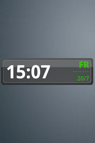 Bruno Clock Widget