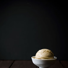 Caramelized Banana Peanut Butter Blender Ice Cream