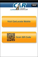 Screenshot of CarLocate QR Scanner