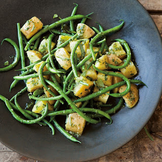 Green Bean and Potato Salad with Herbs and Anchovies