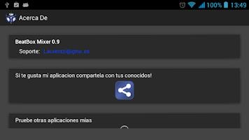Screenshot of BeatBox Mixer