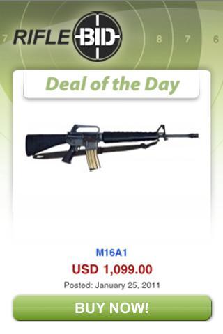 RifleBid deal of the Day
