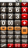 Screenshot of Easy Calc Talking Free