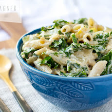 Creamy Penne Pasta with Vegetables