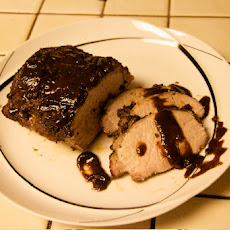 Carribean Roast Pork with Rum Sauce