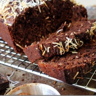 Dark Chocolate Banana Bread (with Coconut)
