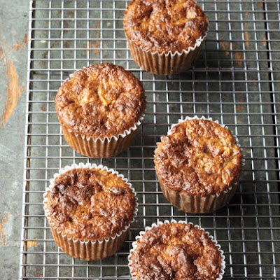 Banana-Apple Buckwheat Muffins