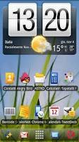 Screenshot of ADWTheme Symbian