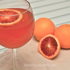 Fresh Blood Orange Spritzer