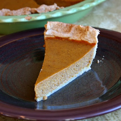Maple Pumpkin Pie