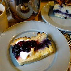 Wild Blueberry Brioche Breakfast Pudding