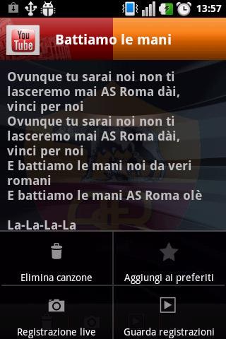 AS Roma Songs