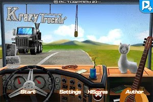 Screenshot of Krazy Truckin'