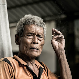Old days by Ahmad Dani - People Portraits of Men