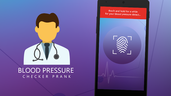 Blood Pressure Checker prank - screenshot