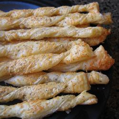 Crispy Cheese Twists