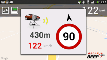 Screenshot of Radar Beep - Radar Detector
