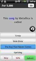 Screenshot of Rock Music Game Lite