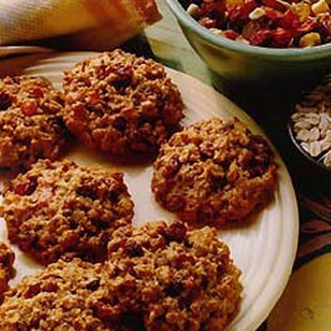 Apple Oatmeal Spice Cookies