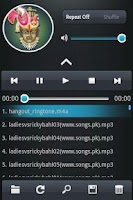 Screenshot of Ruturaj Productions-MP3 Player