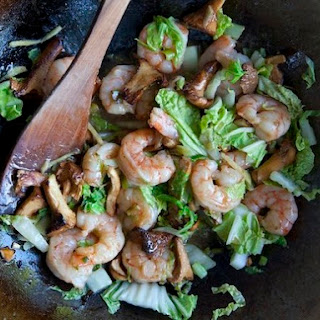 Shauna James Ahern's Chile-Lime Shrimp Stir-Fry
