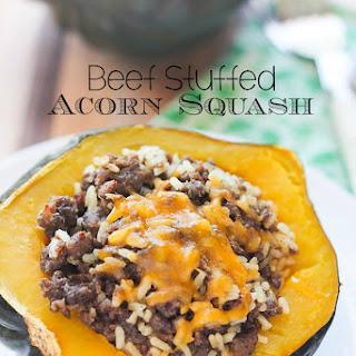 Acorn Squash And Ground Beef Recipes