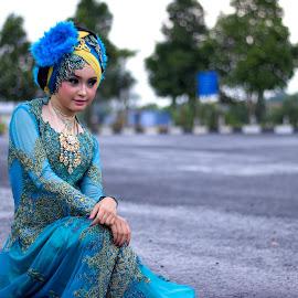 hijab mode by Fendi Hermawan - People Fashion