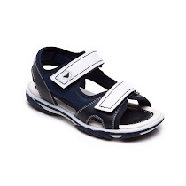 Armani Navy & White Sandal SANDALS