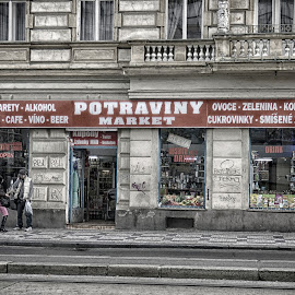 Potraviny Market, Prague by Marcia Geier - City,  Street & Park  Markets & Shops