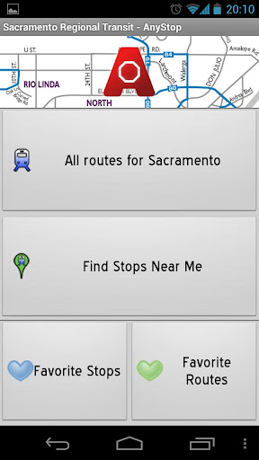 sacramento-transit-anystop for android screenshot
