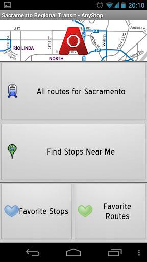 Sacramento Transit: AnyStop