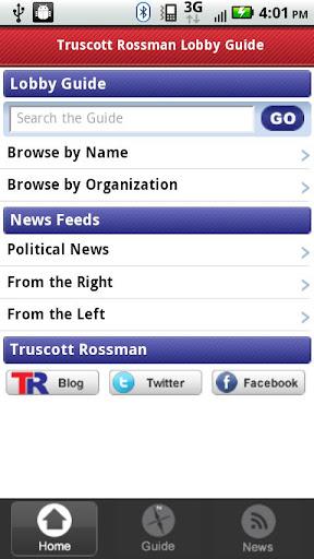 Truscott Rossman Lobby Guide