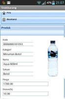 Screenshot of Stokbarang