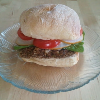 Tempeh-Black Bean-Walnut Patties