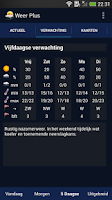 Screenshot of Weather in the Netherlands