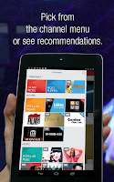 Screenshot of Flipps - Movies, Music & TV