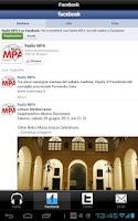 Screenshot of Radio MPA