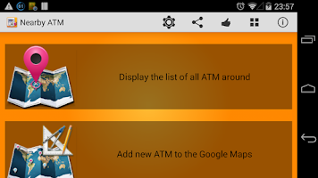 Screenshot of Nearby ATM (bank Locator)