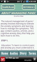 Screenshot of Stop Panic & Anxiety Self-Help
