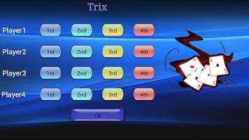 Screenshot of Trix and Tarneeb Counter