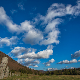 Playful clouds by Stanislav Horaček - Landscapes Weather